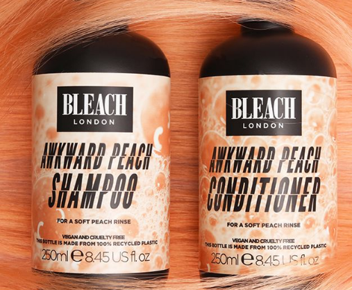 bleach london shampoo and conditioner